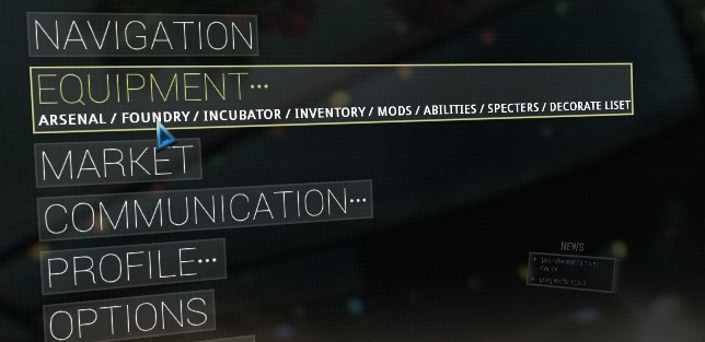 Foundry crafting faq warframe support 2 walk over to the foundry in the liset in the lower compartment of the liset across from the mod station you will find the foundry segment where you can malvernweather Image collections