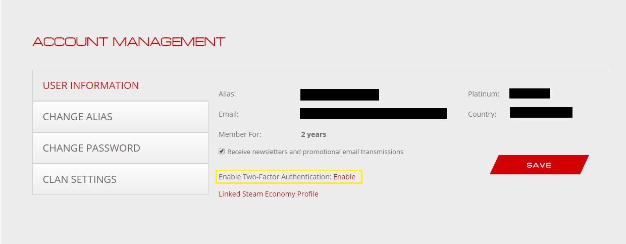 Account Security – WARFRAME Support